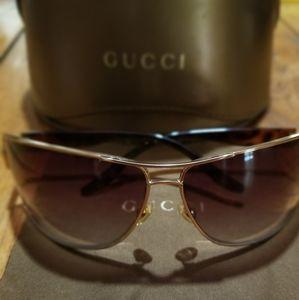 🔹VTG '00 GUCCI Sunglasses GG 1894/S Gold Brown